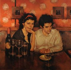 "Wine Art - ""Distracted"", Joseph Lorusso #Wine'nDine"