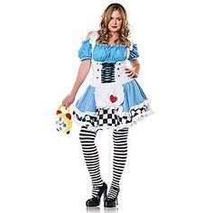 Plus Size Miss Wonderland Costume | Sexy Fairytale Costumes