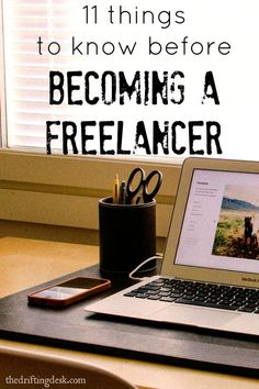 Want to work from anywhere? Many freelancers do. If you're wanting to start your work from anywhere journey, here are some important things to know before becoming a freelancer.