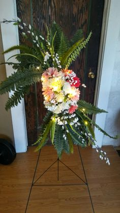 The funeral spray I made for momma