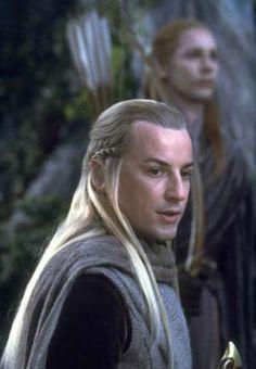 craig Parker as Haldir in LotR