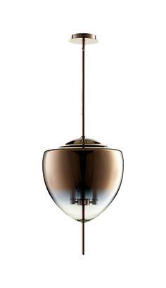 Ember 3 Light Pendant in Satin Copper design by Cyan Design