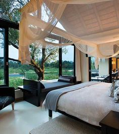 Interior view of a Suite/ Villa at Ivory Lodge, Sabi Sand
