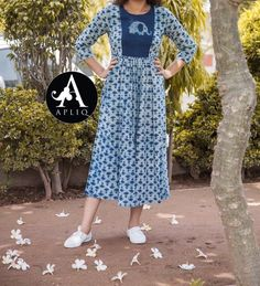 Project to try Churidar Designs, Kurta Designs Women, Kurti Neck Designs, Blouse Designs, Indian Attire, Indian Wear, Indian Dresses, Indian Outfits, Casual Dresses
