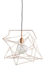 Scribble Copper Wire Pendant Shade from Alexander &  Pearl