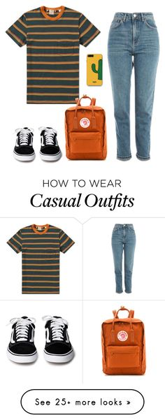 """""""Untitled #360"""" by lemonade60 on Polyvore featuring Levi's, Topshop, Fjällräven and WithChic"""