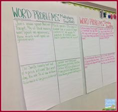 Teaching With a Mountain View: Making Sense of Multiplying  Dividing Fractions Word Problems