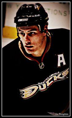 Anaheim Ducks hockey season starts in 19 days!  Ryan Getzlaf by Suzanne Broughton