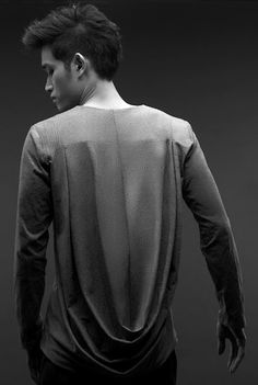 draped shirt for men..get out of here ..I need that
