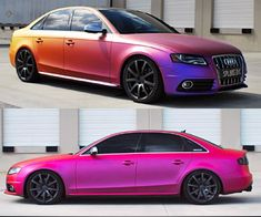 Color-Changing Plasti Dip Creates Chameleon Car