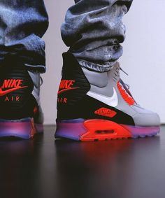 "Nike Air Max 90 Sneakerboot ICE ""Infrared"""