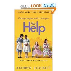 The Help - The book was SOOOO much better then the movie. Plus they changed just enough in the movie to make the book worth reading! Books Everyone Should Read, Best Books To Read, I Love Books, Great Books, My Books, Reading Books, Sr1, Movies Worth Watching, Page Turner