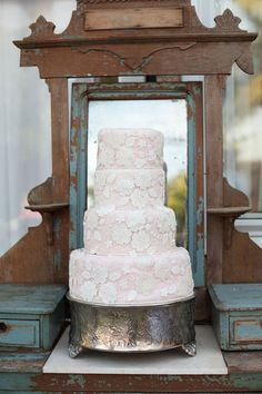 Cake stand. WOW, to take an ornate box, and epoxy a plate or platter on top of it - for that elegance, YESPLEASE.