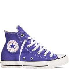 online shopping for Converse Unisex Chuck Taylor All Star Hi Sneaker from top store. See new offer for Converse Unisex Chuck Taylor All Star Hi Sneaker High Top Sneakers, Purple Sneakers, Sneakers Mode, Purple Shoes, Sneakers Fashion, Purple Converse, Shoes Sneakers, Fashion Shoes, Canvas Sneakers