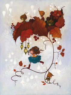 """LUV! """"The Clue in the Leaves"""" by Lorena Alvarez Gómez"""