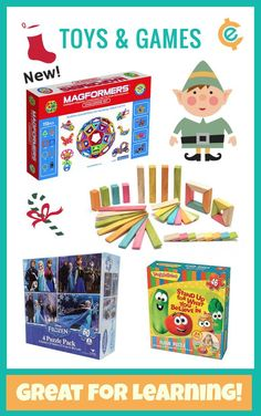 Check out these great #toys #games #books for #Christmas2015 #Educents #Deals #EducationalToys learning