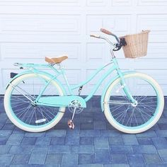 bicycle, blue, bike, vintage, cruiser- yep need one for decor and then you have…