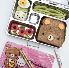 Bento Box Lunch For Adults, Toddler Lunch Box, Cute Lunch Boxes, Kids Packed Lunch, Bento Kids, Japanese Bento Box, Japanese Kids, Kawaii Bento, Lunch Box Containers