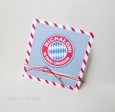 Bayern Munich fan birthday card