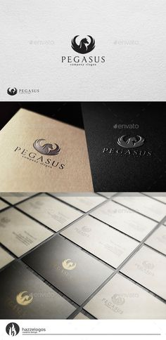 Dazzling Pegasus Logo EPS Template • Only available here ➝ http://graphicriver.net/item/pegasus-v2-logo/10925612?ref=pxcr