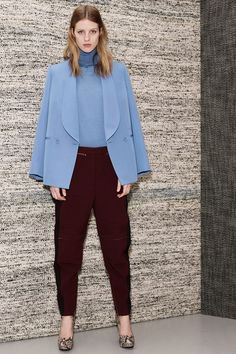 Stella McCartney: Pre-Fall 2013- Super color-combo and amazing utility pants!