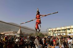 An Indian girl performs acrobatic skills on a rope during Mahashivratri festival    Read more: http://lightbox.time.com/2012/02/24/pictures-of-the-week-february-17-february-24/#ixzz1nLQCVhBb