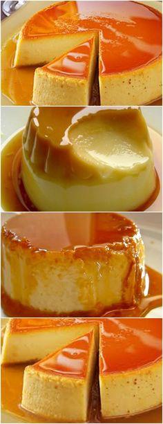 SOBREMESA QUE FAZ TODA DIFERENÇA(Flan Especial) VEJA AQUI>>>Dissolva o flan, leve ao fogo e despeje o leite condensado.Derreta o açúcar no fogo e dissolva com a água até virar uma calda.Em uma  #receita#bolo#torta#doce#sobremesa#aniversario#pudim#mousse#pave#Cheesecake#chocolate#confeitaria