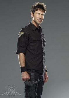 Joe Flanigan - Not my usual type, but I have a weakness for all things Stargate. :p