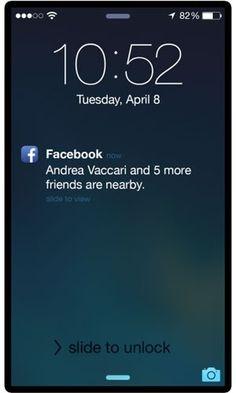 Facebook avisará quando amigos estiverem por perto