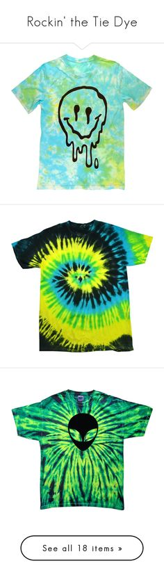 """""""Rockin' the Tie Dye"""" by kvrox ❤ liked on Polyvore featuring tops, t-shirts, shirts, short sleeve, tiedie shirts, tiedye t shirts, tye dye t shirts, tie dye t shirts, blue t shirt and graphic tee"""