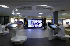 3x3 Interactive Video Wall at GE's education center
