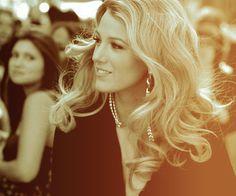 Blake. big curls.