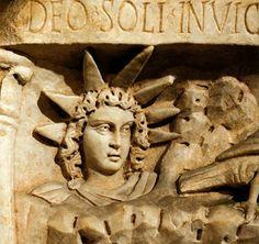 "Roman God Of The Sun Imho: a very merry 'seasonal greeting"" or 'reductio ad <b></b>"