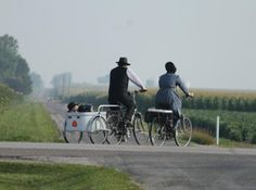 Amish People in America | ... the Kalona community, the Amish showed up here before the town did