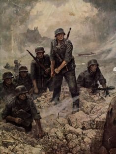 ― Historians Union( 「The Wehrmacht - The 1919 Versailles Treaty was expected by the Allies in to cripple the German…」 German Soldiers Ww2, German Army, Military Art, Military History, Military Drawings, Germany Ww2, Ww2 History, World War One, Apocalypse
