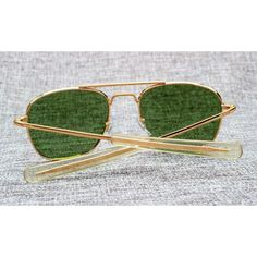 9858265d7c5 Hawaii Famous Army MILITARY Pilot Sunglass Brand American Optical Glass  Lens Sun Glasses