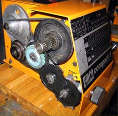Emco lathes and milling machines Metal Lathe Projects, Diy Lathe, Industrial Machine, Milling Machine, Cnc, Workshop, Engineering, Gears, Models