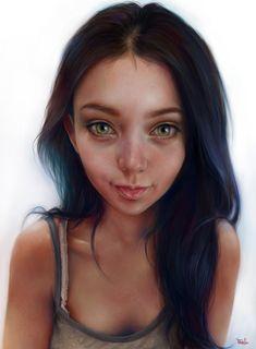 ArtStation - 'ekrhy, Elena Sai