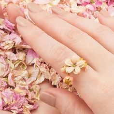 🌿🌸 Cherry Blossom 🌸🌿 With the opening of The Chelsea Flower Show & our current crush of blush tones, this Cherry Blossom Ring is the perfect ode to the floral season! Cherry Blossom Jewelry, Chelsea Flower Show, Fashion Jewellery, True Beauty, Statement Rings, Cocktail Rings, Fashion Photography, Enamel, Blush