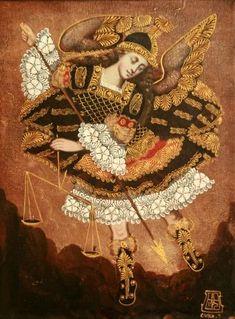 22 Archangels In Colonial Art Ideas Archangels Colonial Art Art
