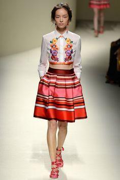 Alberta Ferretti RTW Spring 2014 - Slideshow - Runway, Fashion Week, Reviews and Slideshows - WWD.com MILAN