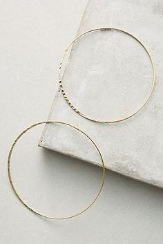 Slender Hoop Earrings