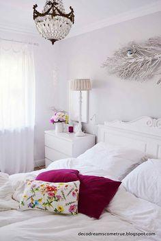 Das Schlafzimmer ist ein Ruhepol für Körper und Geist. Ich liebe mein Bett und alles was ich dort sehe, wenn ich morgens aufwache. ...