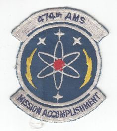 "USAF Air Force Patch: 474th Avionics Maintenance Squadron - 3 1/4"" picclick.com"