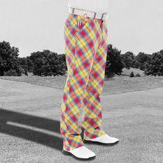 Plaid Awesome Tartan Pants