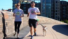 Rufftail Runners, located in Austin, Tx, pairs runners and walkers with the pets to give them much-needed exercise, fresh air, and time away from their kennels.