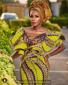 latest ankara gown styles - African Prints Styles Latest Ankara Gown Styles 2020 13 608x760 - 40 Pictures – New and Stylish African Prints Styles: Latest Ankara Gown Styles 2020 - photo