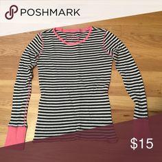 Delia's waffle knit longsleeve shirt Size medium PINK Victoria's Secret Tops Tees - Long Sleeve