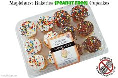 Maplehurst Bakeries {Peanut Free} Cupcakes ~ Available at Retailers Across the US, including Walmart