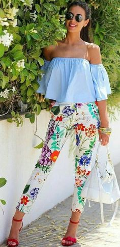 #summer #fashion Of course this colors of summer and the sky